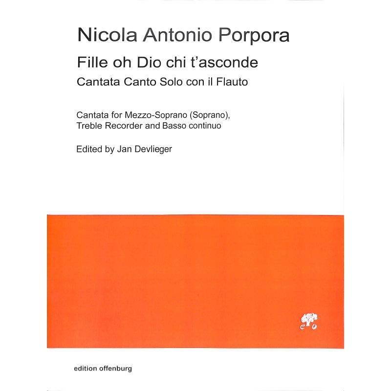 Titelbild für OFFENB -PP3211 - Fille oh Dio chi t'asconde