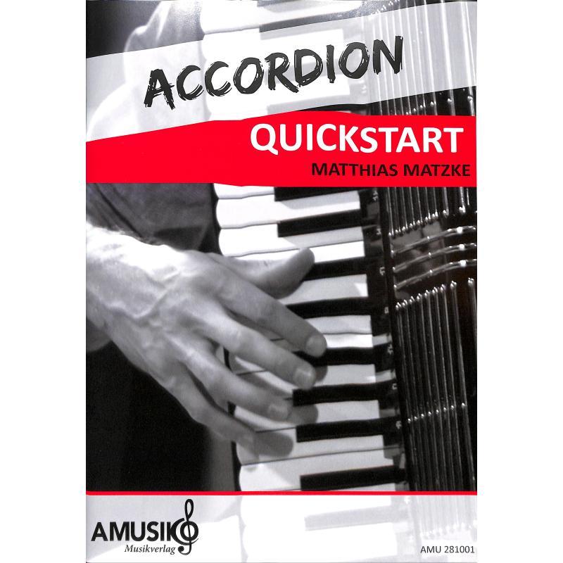 Titelbild für AMUSIKO 281001 - Accordion quickstart