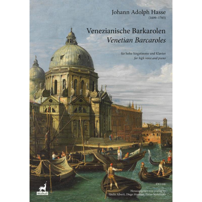 Titelbild für WALHALL 1166 - Venezianische Barkarolen